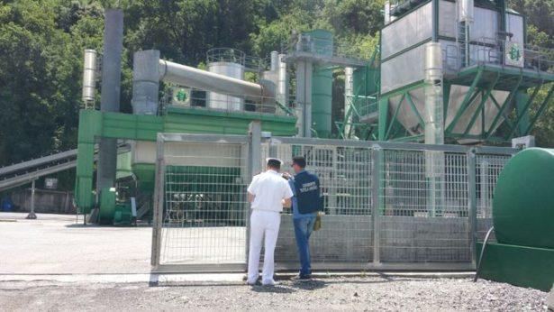 Carabinieri sequestrano azienda per la lavorazione del bitume ad Amantea
