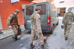 Scantinato arsenale a Genova, anche mine anti-uomo