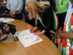 Sottoscritto patto amicizia tra Comune Cassano e città di Matera