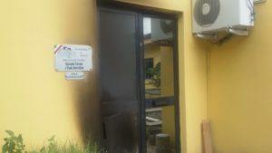 Incendio aula consiliare Comune Cerisano
