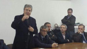 Mons. Savino incontra operai a Castrovillari