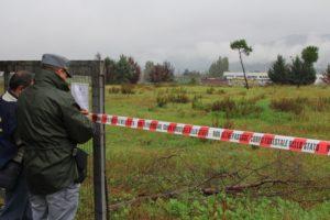 Corpo forestale sequestra area ex Legnochimica a Rende