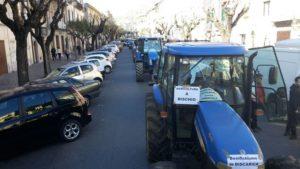 Protesta agricoltori Castrovillari