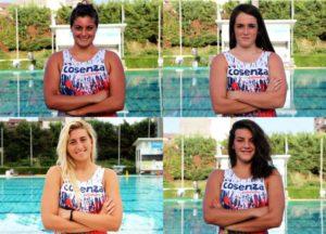 Pallanuoto femminile giovanile: Citino, Nigro, Marani, Presta in Nazionale Giovanile