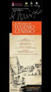 mostra in memoria di Eugenio Cenisio