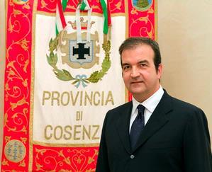 Presidente Provincia di Cosenza Mario Occhiuto