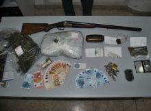 Un arresto della squadra mobile di Cosenza per droga e armi
