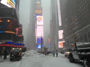 Usa: tempesta neve ferma anche Ny, stop a mezzi pubblici