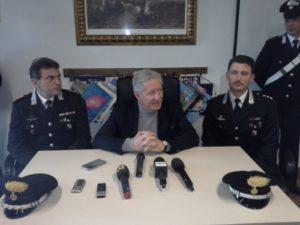 Conferenza stampa su arresto autore omicidio donna