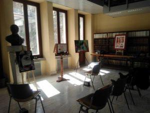 Biblioteca civica mostra e letture dedicate alle donne