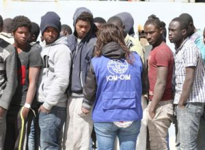Migranti a Reggio Calabria