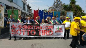 Mafia: marcia amministratori sotto tiro a Polistena