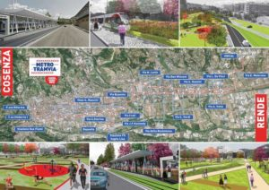 Progetto metro leggera Cosenza-Rende-Unical