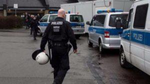 Germania polizia tedesca