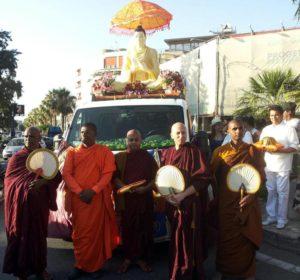 Inaugurazione Tempio Buddhista di Reggio Calabria