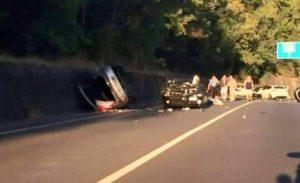 Grave incidente stradale sulla Statale 107 nei pressi dello Stadio Lorezon questa mattina