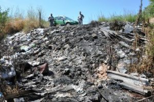 Rifiuti: Forestale sequestra discarica abusiva a Rende