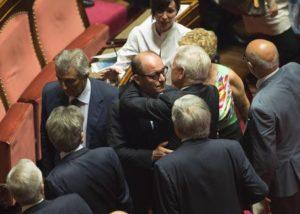 Caridi si consegna a Rebibbia.Dopo il sì all'arresto da parte dell'Aula del Senato