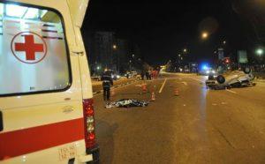 Incidente su statale 106 nel cosentino, due morti.Coinvolte 3 automobili