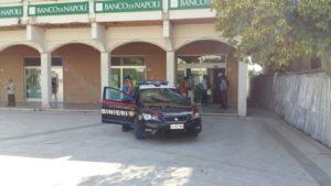 Rapina in banca, tre arresti dei carabinieri