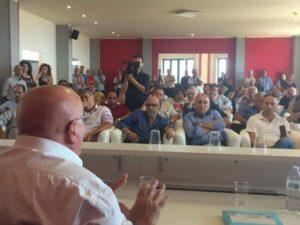 Sanità, il presidente Oliverio ha incontrato a Cetraro i sindaci dell'Alto Tirreno cosentino