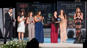 allieve Accademia New Style di Cosenza contribuiscono al successo della serata Woman Fashion Night