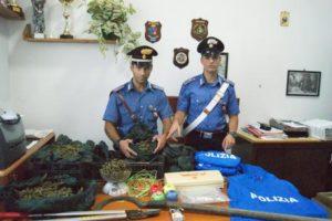 Carabinieri sequestrano droga