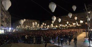 Capodanno: in migliaia a Cosenza per il concerto di Alvaro Soler