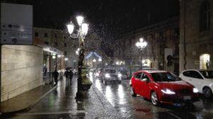 Nevica a Catanzaro