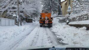 Maltempo: neve in Aspromonte
