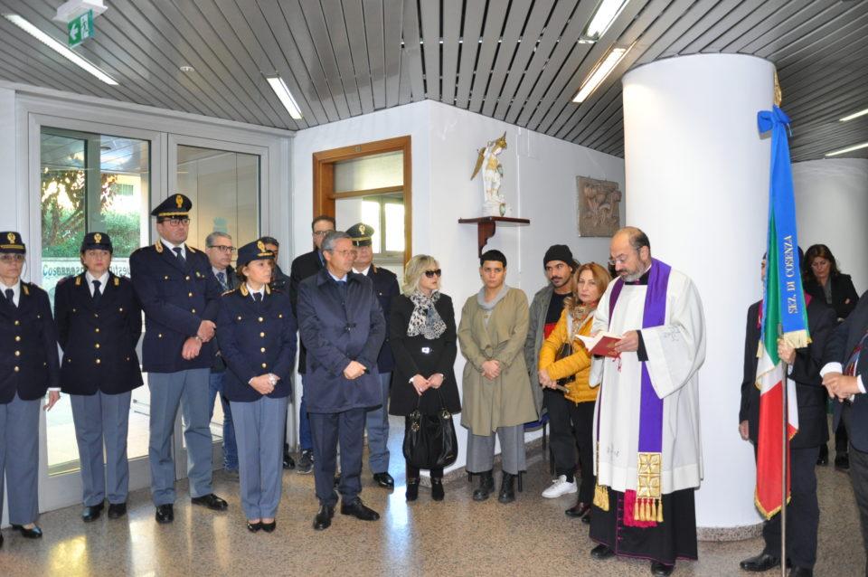 Cerimonia in questura a Sassari in memoria dei Caduti